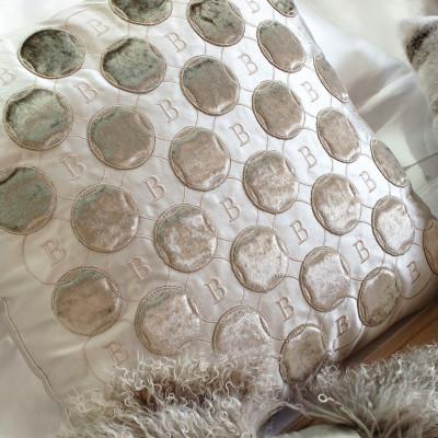 Bagnaresi Casa - Cushion - RICAMO Q31 - detail