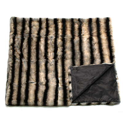 Bagnaresi Casa - Plaid - Cover - MONGOLIA C1 - RX MARRONE
